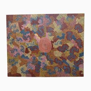 Cassidy Tjapaltjarri, Chenille Kupatur, Peinture Aborigène, 1970
