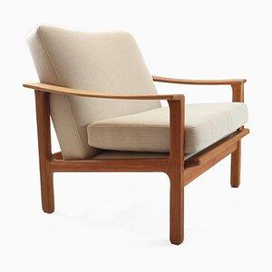 Vintage Armchair with Kvadrat Fabric, Sweden, 1960s