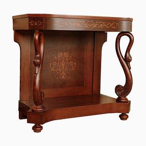 Console Fernandine Antique en Acajou