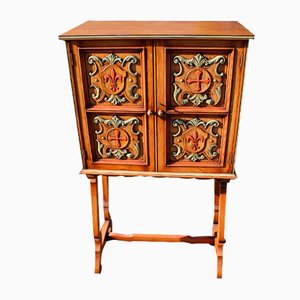 Decorative Oak Cabinet from Maple & Co, 1940s