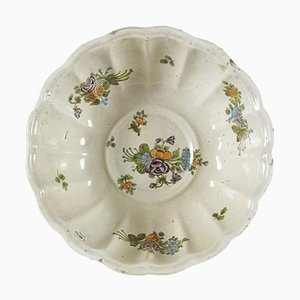 Antique Majolica Centerpiece or Bowl from Lodi