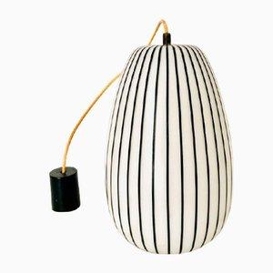 Lampe à Suspension en Verre de Murano par Massimo Vignelli pour Venini, 1960s