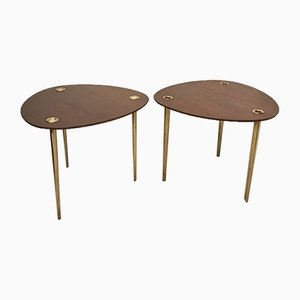 Tables Gigognes Partroy par Pierre Cruège, 1950s, Set de 2