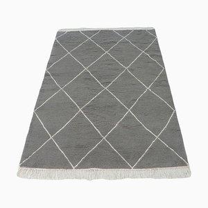 Marokkanischer Berber Teppich in Grau