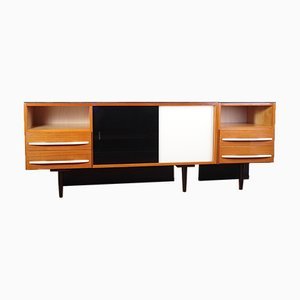 Mid-Century Sideboard by Mojmir Pozar for UP Zavody, 1960s, Set of 2