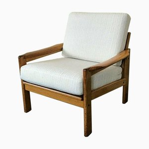 Danish Teak Easy Chair Lounge Chair, 1960s
