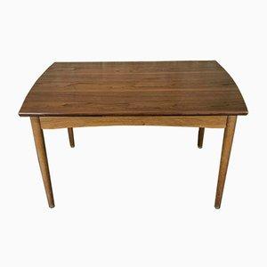 Danish Oak and Teak Dining Table, 1960s