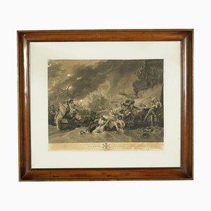 Cornice Impero, The Battle at La Rouge, Print