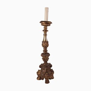 Eclectic Torch Holder, Italy, 19th Century