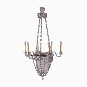 Glass Chandelier, Spain, Late 19th Century
