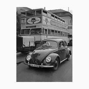 Volkswagen Kaefer et Double Decker à Berlin, Allemagne 1939, Imprimé 2021