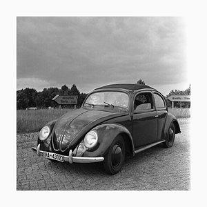 Volkswagen Beetle Parking on the Streets, Allemagne 1939, Imprimé 2021