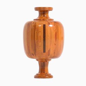 Vase en Bois par Maurice Bonami