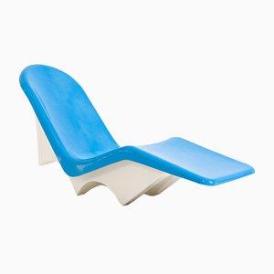 Blue Fibrella Lounge Chair from Le Barron