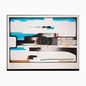 Voyage Salvatore, Figures Géométriques, Lithographie, 1970