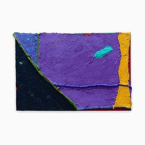 Space Echo, Abstraktes Gemälde, 2015