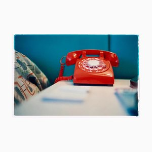 Téléphone VI, Ballantines Movie Colony, Palm Springs, Photographie Couleur, 2002