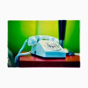 Telephone III, Ballantines Movie Colony, Palm Springs, Fotografia a colori, 2002