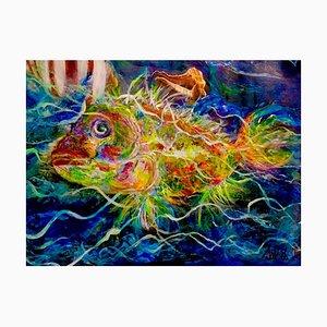 Sunfish, Oeuvre d'Art Contemporaine par Nicole Benjamin, 2021