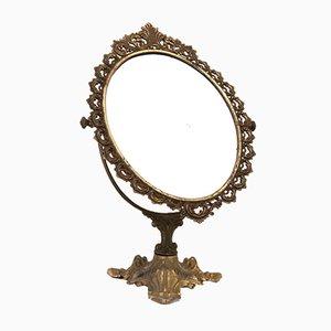 Antique Baroque Style Make-Up Mirror