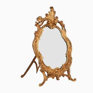 Antiker Schminkspiegel im barocken Stil