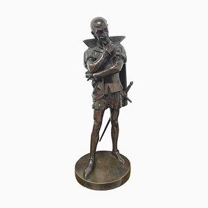 Statue en Bronze d'un Personnage Shakespearien, 18ème Siècle