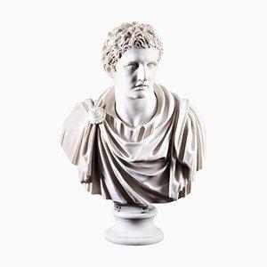 Sculpture Buste Mark Antony, 20ème Siècle