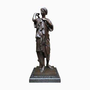 Bronze einer römischen Göttin, 19. Jh
