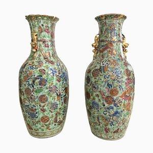 Grands Vases, Chine, 19ème Siècle, Set de 2