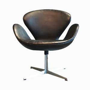 Model 3320 Swan Chair by Arne Jacobsen for Fritz Hansen, 1960s