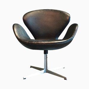 Modell 3320 Swan Chair von Arne Jacobsen für Fritz Hansen, 1960er