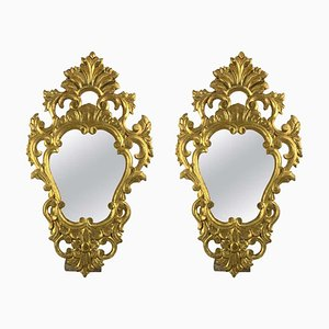 19th Century French Gilt Mirrors, Set of 2