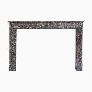 18th Century Louis XVI Fireplace Mantel in St Anne's Marble