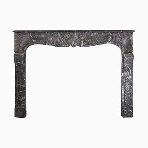 18th Century Louis XVI Style St. Anne's Marble Fireplace Mantel