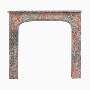 19th Century Louis Philippe Marble Fireplace Mantel