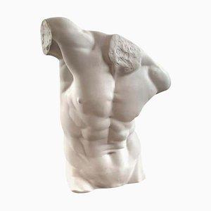 Statue de Torse d'Homme, 20ème Siècle