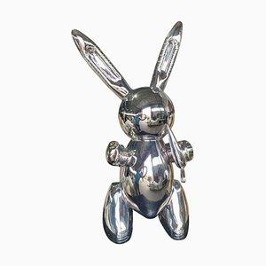 20th-Century Chrome Rabbit by Jeff Koons