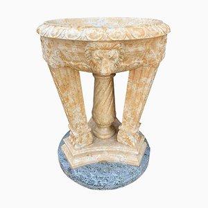 Vaso in marmo bicolore, XX secolo
