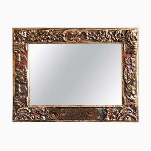 18th-Century Antique Baroque Style Giltwood Mirror