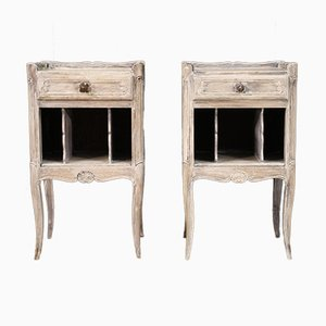 Shabby Chic Bedside Tables, 20th Century, Set of 2