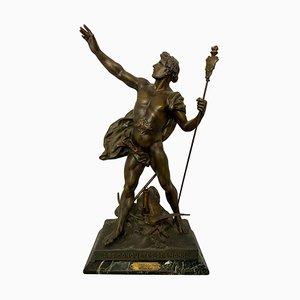 Statue Les conquêtes de l'Homme, 19ème Siècle