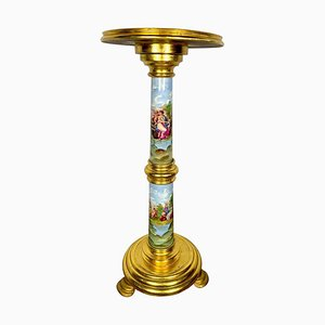 19th Century Sevres Style Porcelain Pedestal