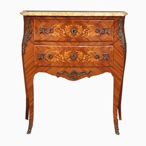 Louis XV Style Inlaid Dresser, 20th Century