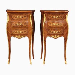 Tables de Chevet Style Napoléon III, France, 20ème Siècle, Set de 2