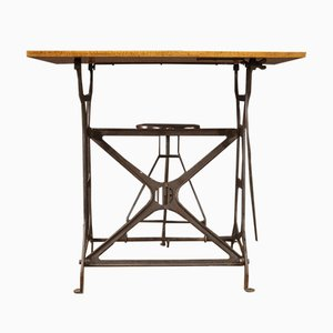 Vintage Technical Drawing Table, 20th-Century