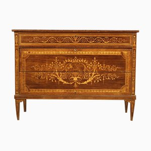 Italian Louis XVI Style Inlaid Dresser, 20th Century