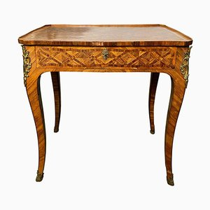 Kingwood Schreibtisch mit Intarsien, 18. Jh