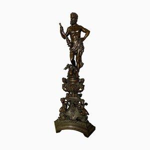 Sculpture Hercule en Bronze, 19ème Siècle