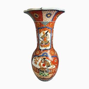 Grand Japanese Imari Vase, Late 19th Century