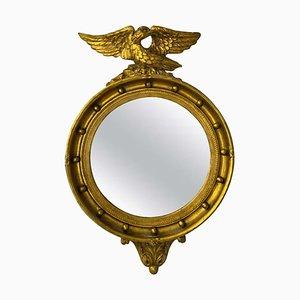 Napoleon III Spiegel mit vergoldetem Holzrahmen, 19. Jh